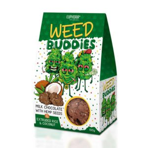 Weed Buddies - Vollmilch & Dunkle Schokolade